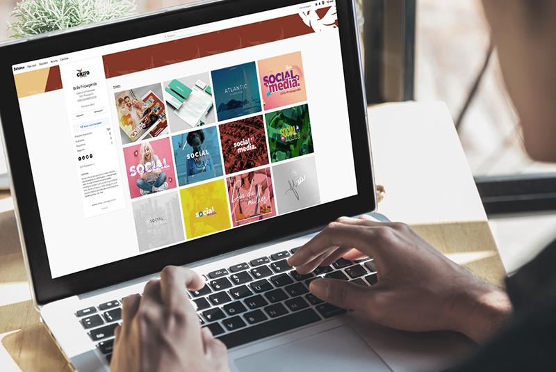 Monte o seu portfólio online para conquistar novos clientes